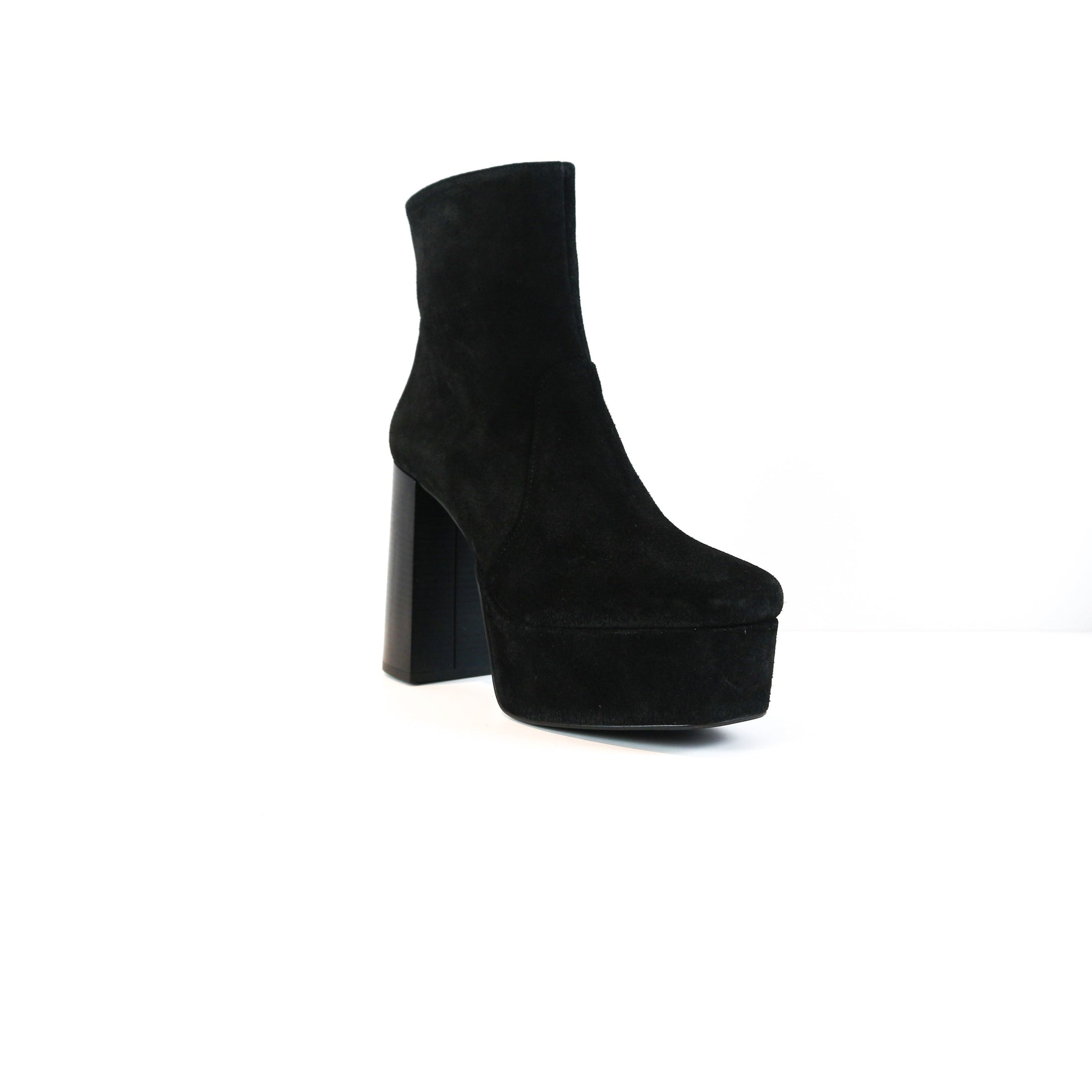 ANDRES | BLACK SUEDE PLATFORM BOOTS - TrystShoes