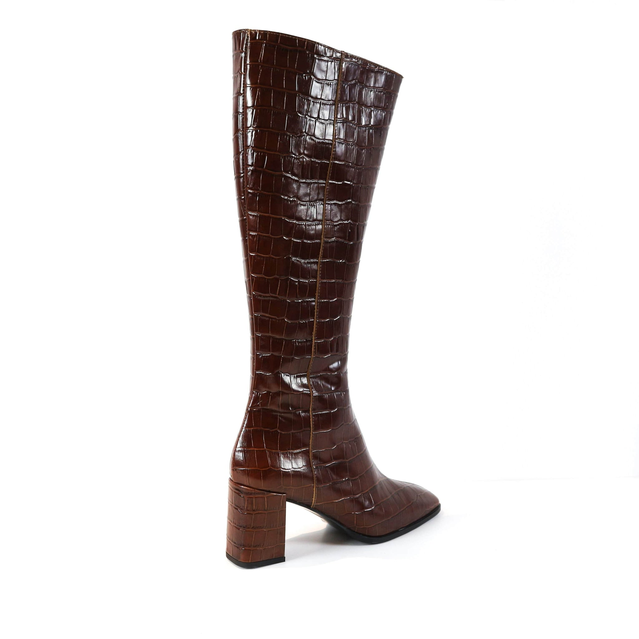 LUZ | Brandy Leather Knee High Boots - TrystShoes