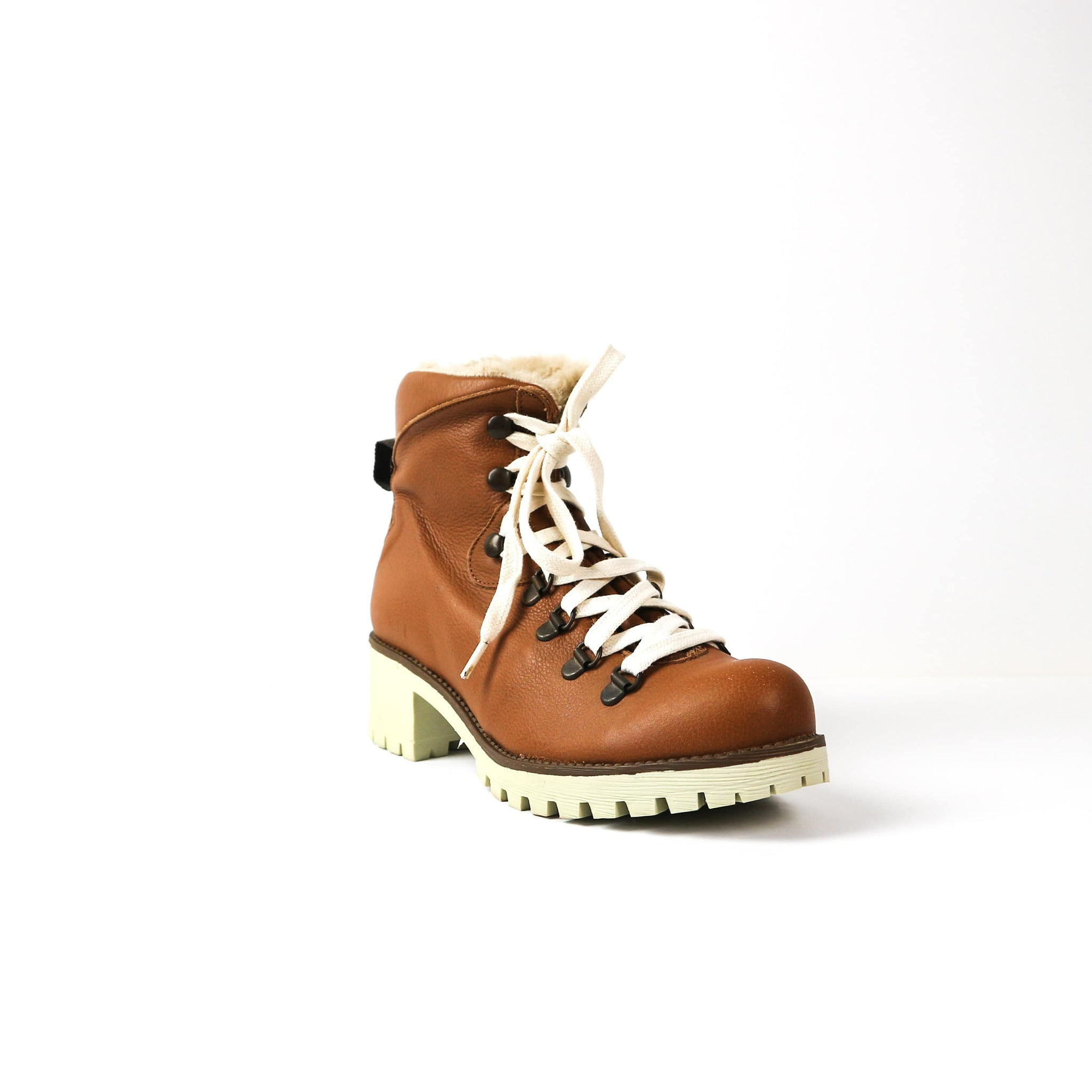 MASVIDAL | Tan Fur Boot - TrystShoes