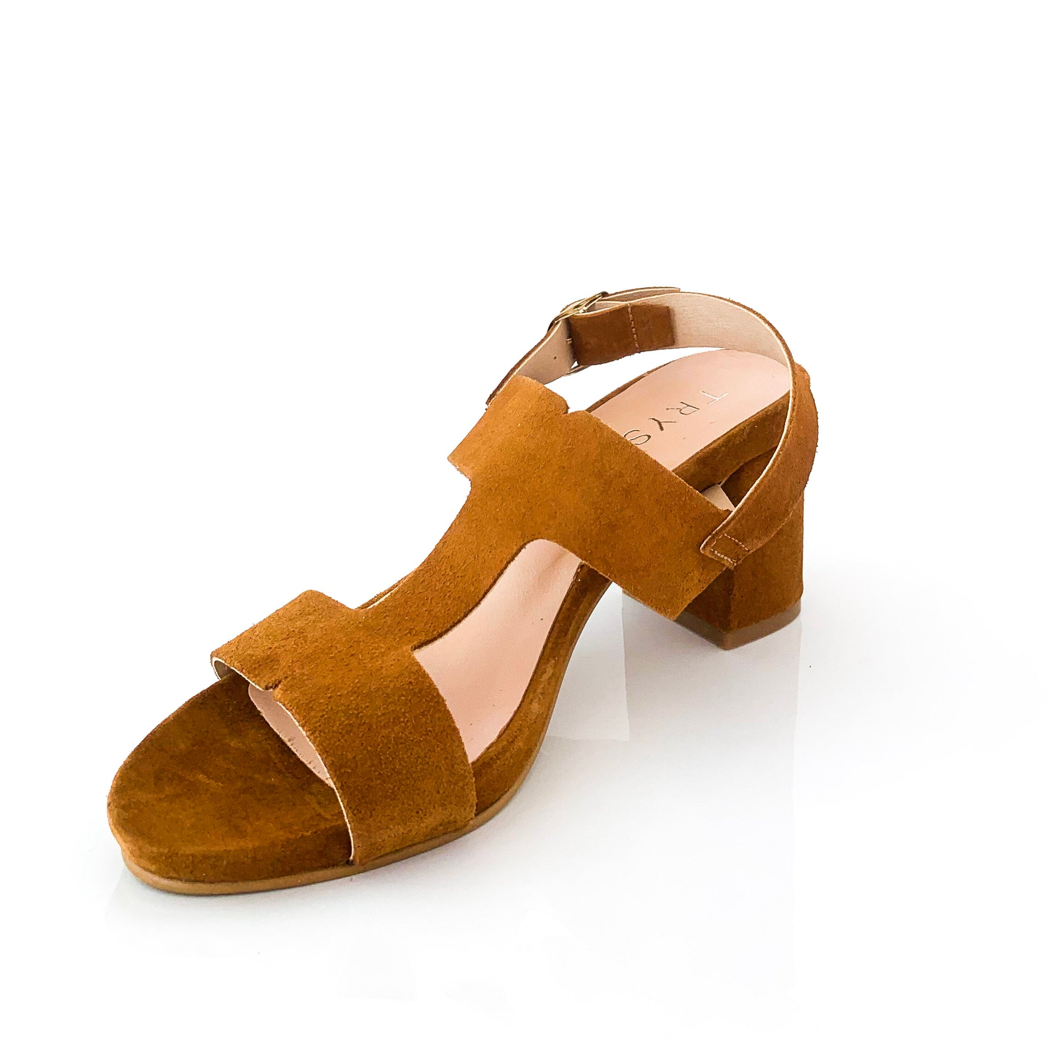 Thiare | Brown Suede Sandals - TrystShoes