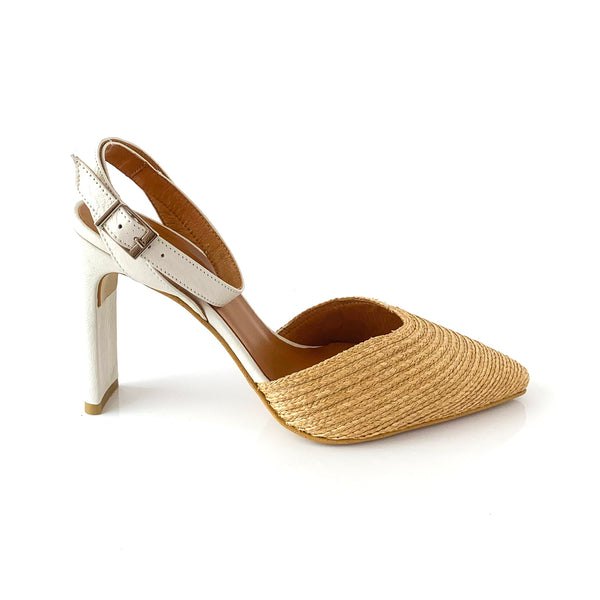 LIZA | TAUPE SANDAL HEELS - TrystShoes