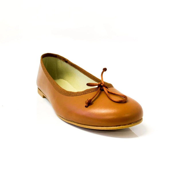 MORENO | Brown Flats - TrystShoes