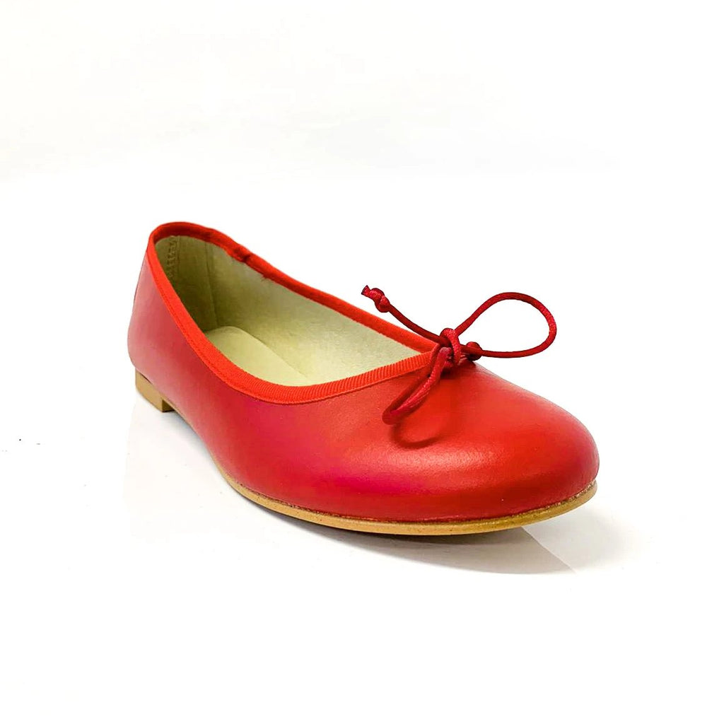 RUBI | Red Rose Flats - TrystShoes