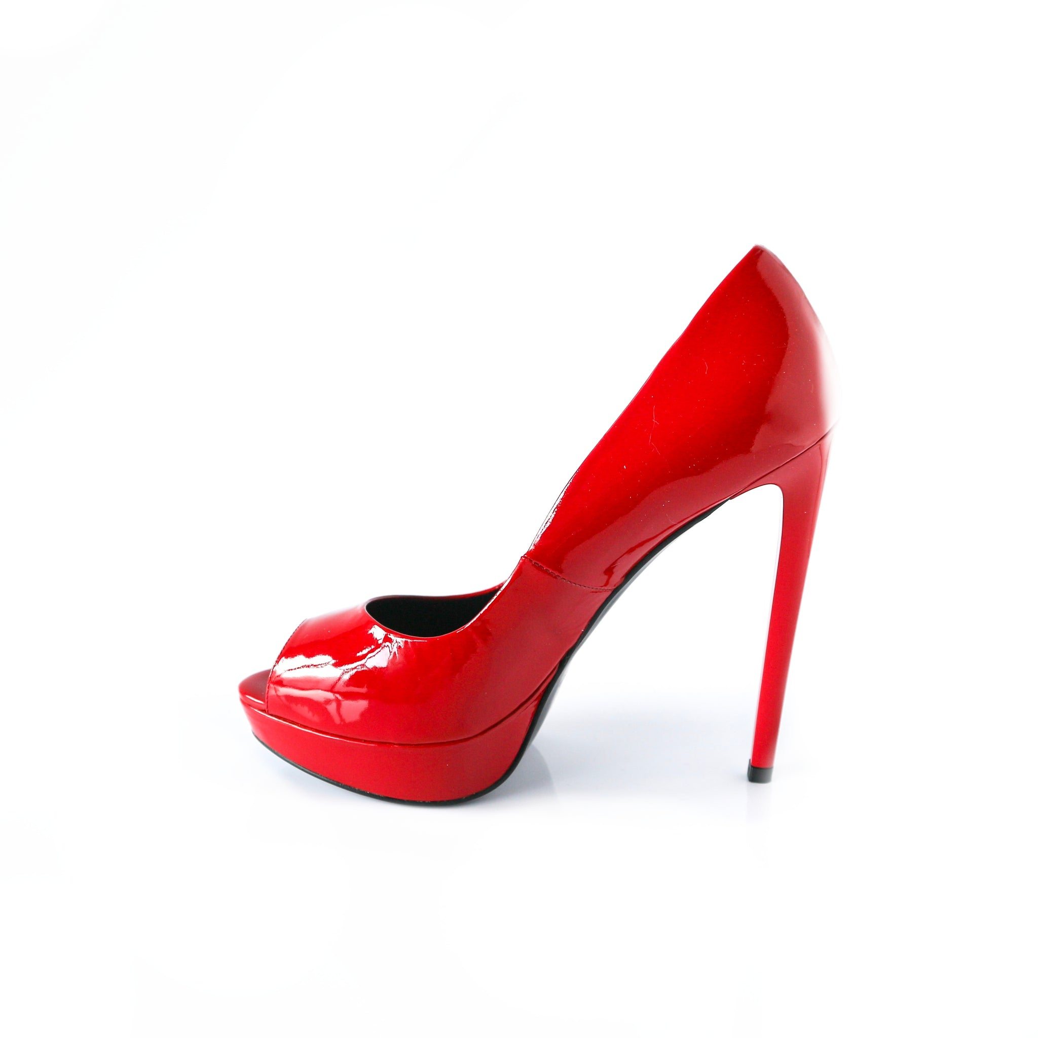 LUXE | Red High Heels - TrystShoes