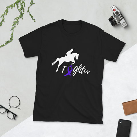 Cancer Awareness Horse Tee
