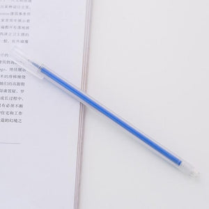 Gel Pen StationeryKorean Stationery Simple Wind Transparent Sand Watercolor Pen Neutral  0.5mm School Supplies for Writing stool