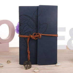 Hot Notebook A5 A6 A7 Office Stationery School Supplies Travel Diary Creative Leather Cover Ring Binder Kraft Paper Notepad