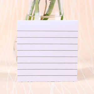 Office Stationery Sticky Notes Square Soild Color Memo Pad 80 Pages Sticker  Bookmark Point It Marker Memo Sticker Paper