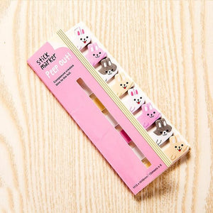Memo Pad Bookmarks Creative Cute Animal Sticky Notes index Posted It Planner Stationery School Supplies Paper Stickers