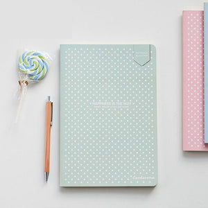Dot Grid Bullet Notebook Stationery Lattice Creative Journaling Book Simple Soft Cover Dotted Journal Bujo