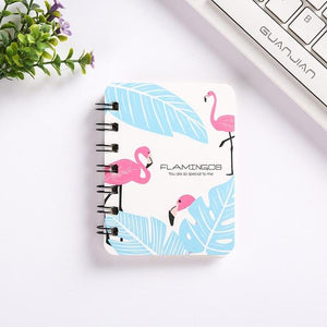 1pcs 8*10.5cm South Korean creative small fresh lovely A7 pocket small loop portable notebook School office stationery 80sheets
