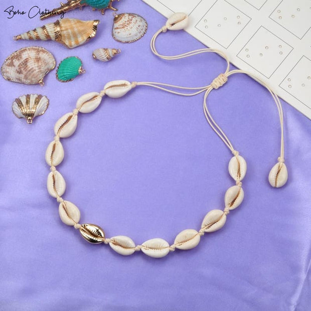 Boho Shell Necklace