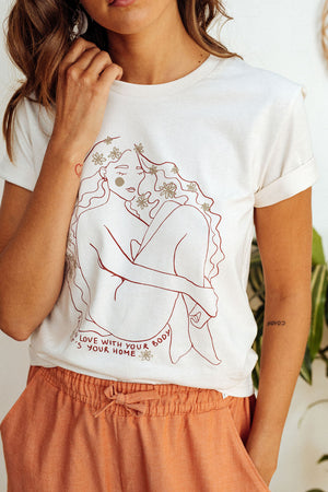 Tee-shirt Fall in love