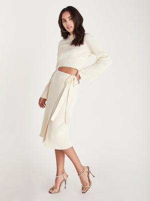 Load image into Gallery viewer, Arya Midi Skirt