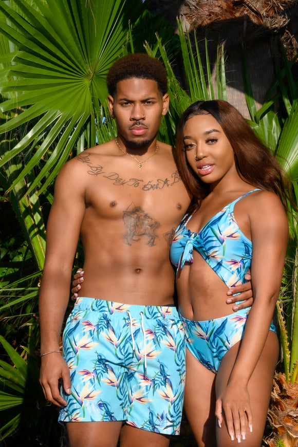 HAWAIIAN BAE MATCHING SWIMWEAR