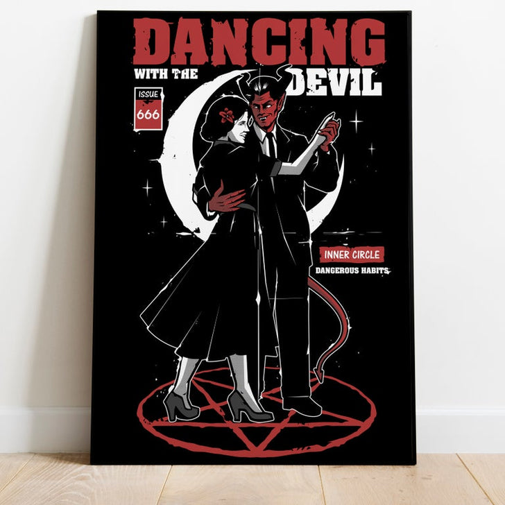 Dancing with the devil (A3 print)