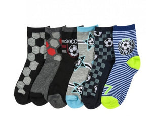 3pk Ankle or Crew Socks