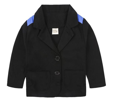 Black Toddler Blazer