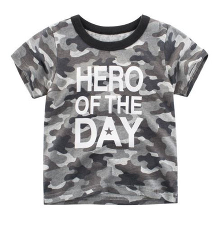 Hero Of the Day Short Sleeve Shirt / Top