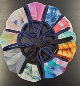 Kids Tye Dye Face Masks