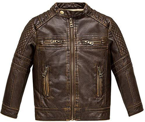Boys Biker Leather Jackets
