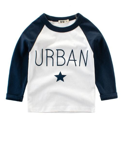 Urban Raglan Sleeve Shirts