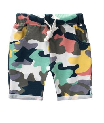 Toddler Camou Color Shorts