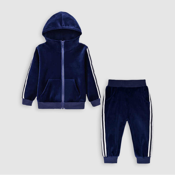 Swag Out Boys Velour Toddler Jogger Set