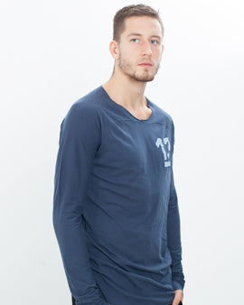 "Antidote ""13"" Tee in Mood Indigo"