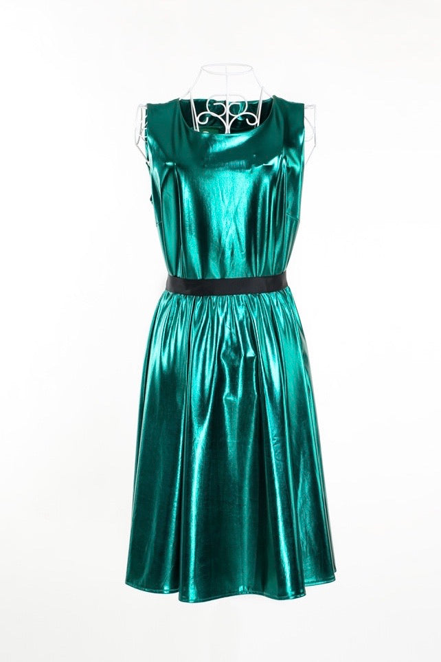 Shock metal dress