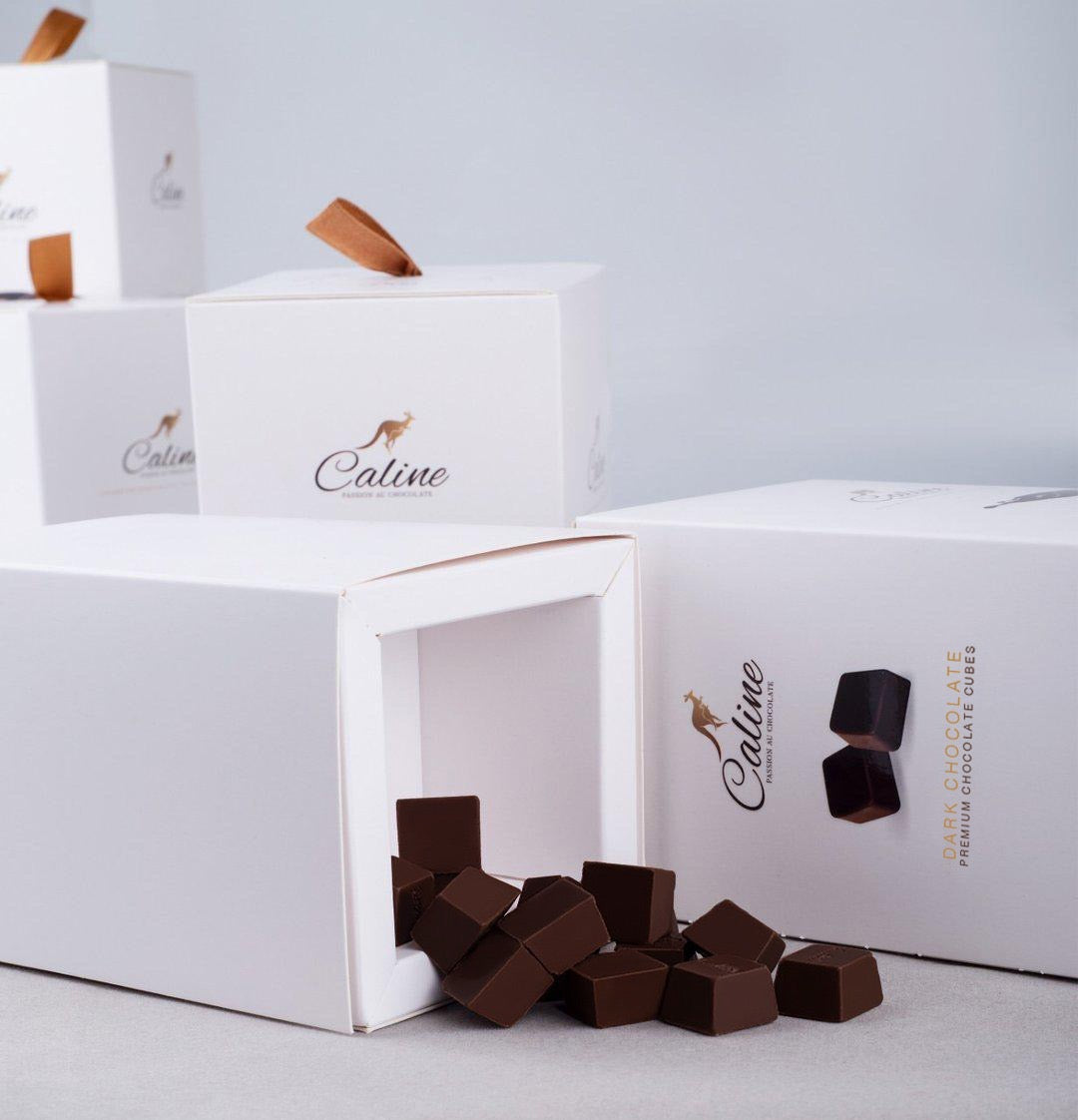 Dark Chocolate Cubes