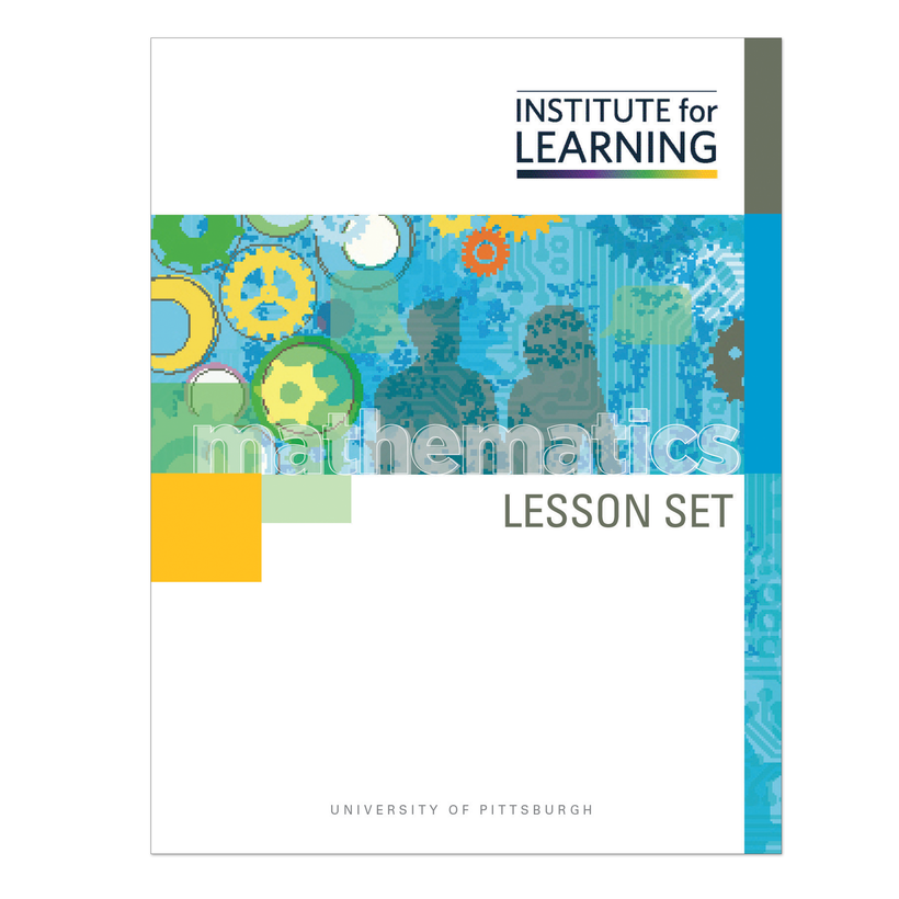 Math Lesson Sets and Workbooks Grades 3-5