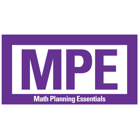 Math Planning Essentials Guides for Negative Numbers