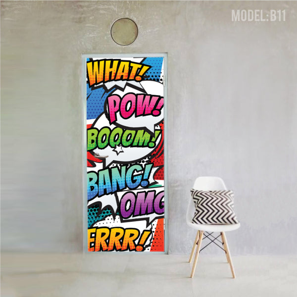 Full Color Magnet / Sticker for Bomb Shelter Door [B11] - Awesomedia Pte Ltd