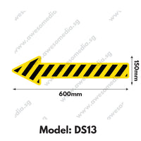DS13 - Directional Sign Floor Sticker [SG Ready Stock] - Awesomedia Pte Ltd