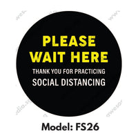 FS26 - Social Distancing Floor Sticker [SG Ready Stock] - Awesomedia Pte Ltd