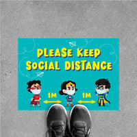 FS16 - Social Distancing Floor Sticker [SG Ready Stock] - Awesomedia Pte Ltd
