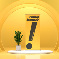 Pull Up Stand / Roll Up Banner (850mm x 2000mm) - Awesomedia Pte Ltd