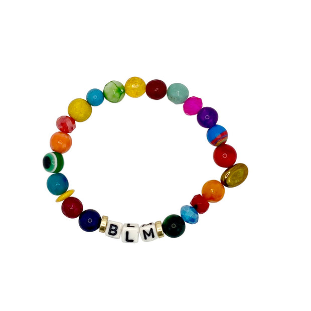Black Lives Matter Vibrant Colorful BLM Cord