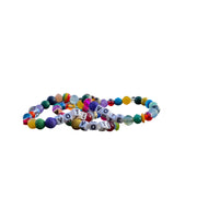 Libertas & Justicia Vibrant Gemstone VOTE Cord (without gold)