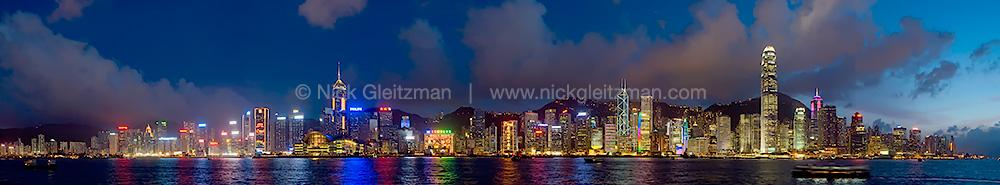 070706-4299-304 <i>Hong Kong City Lights</i>