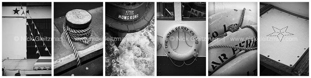 071018-7242-308-BW <i>Hong Kong Star Ferry #2 B&W</i>