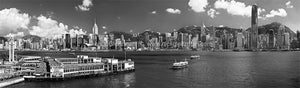 090712-3857-64-BW <i>Hong Kong Star Ferry B&W</i>