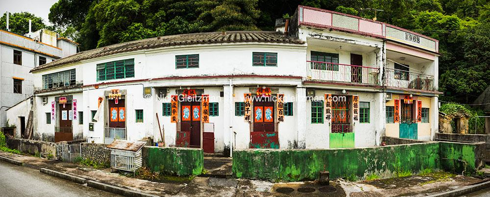 120722-1142-47 <i>Luk Keng Village Houses #1</i>