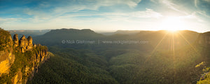 121227-2240-44 <i>Three Sisters Sunset, NSW</i>