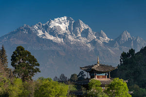 130321-7133 <i>Yulong (Jade Dragon) Snow Mountain</i>