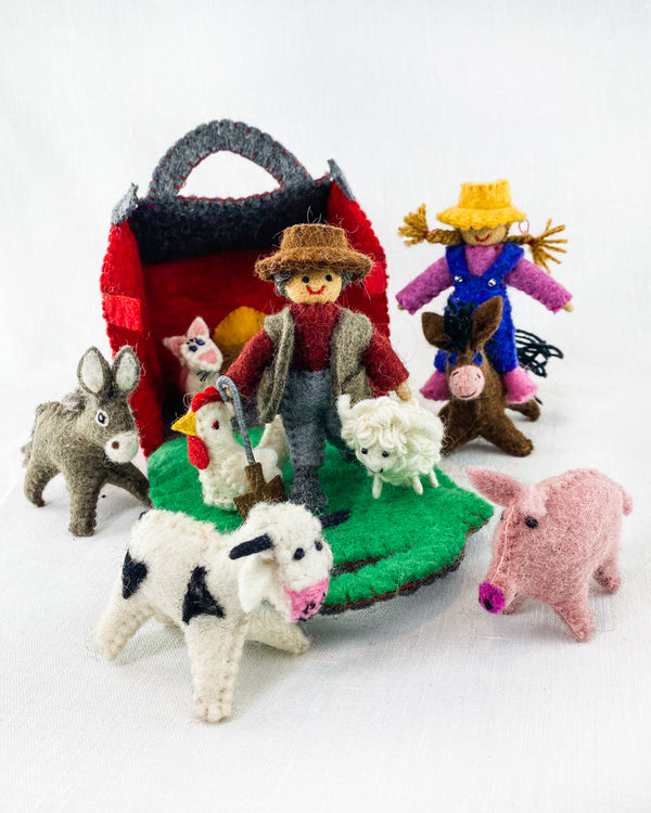 Felt Farmyard Friends