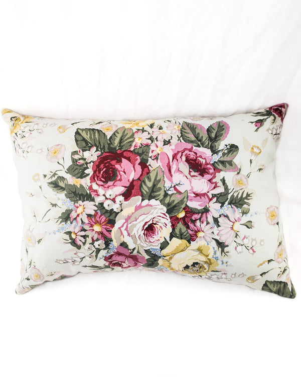 Floral Bolster Cushion