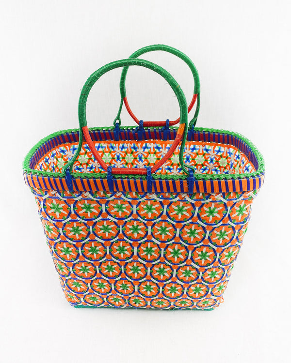 Mingalaba Baskets : Flower Weave