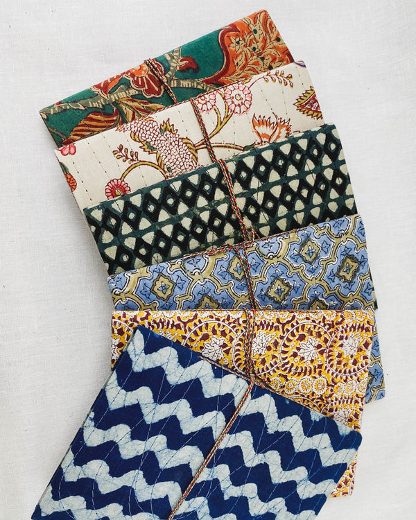 Anokhi Fabric Notebooks